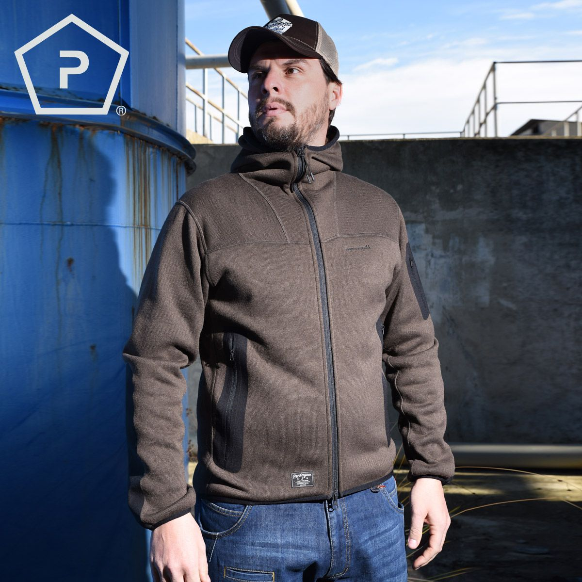 6519da1e7ef091 Pentagon Falcon is a comfortable tactical sweater with fine fleece inner  backing and the outer layer