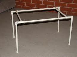 pvc pipe table legs
