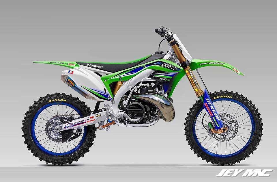 Kawasaki Kx300 Concept Enduro Motocross Motocross Bikes