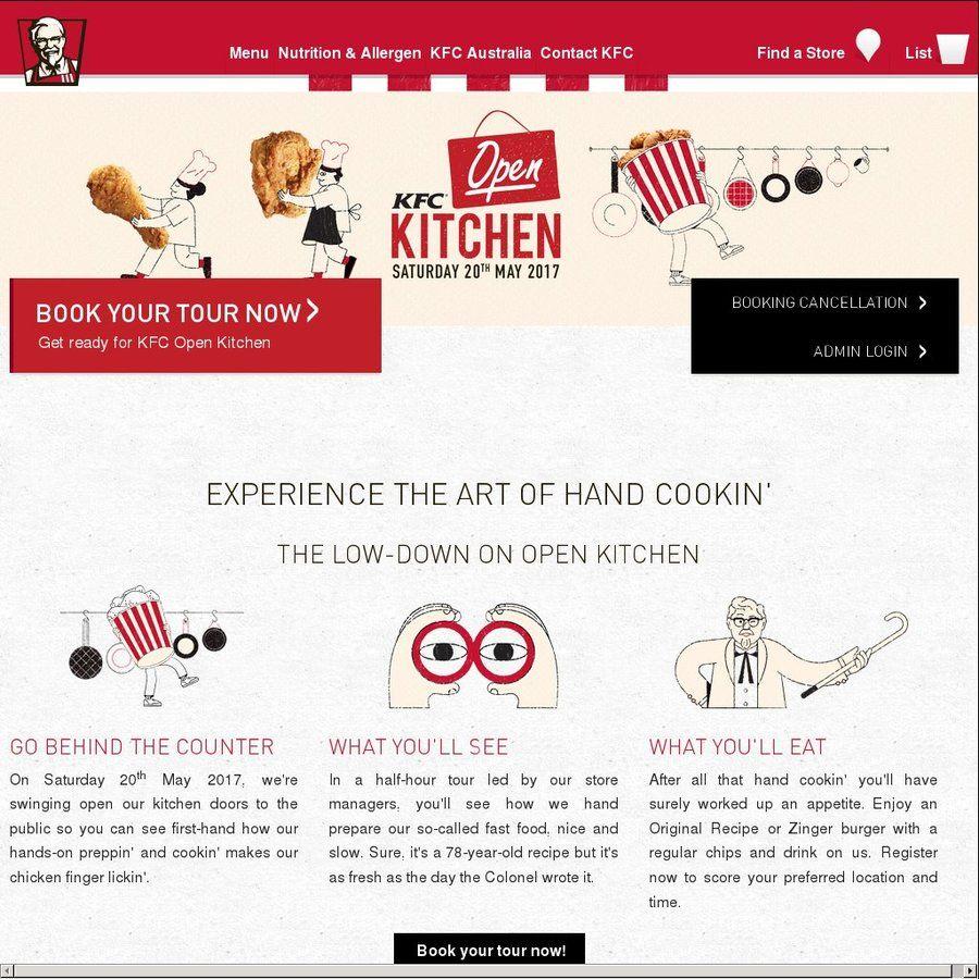 KFC Open Kitchen Tour with Free Original Recipe or Zinger Burger + ...