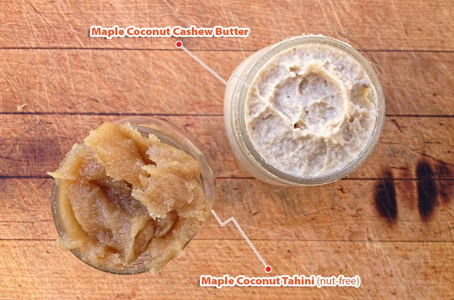 Maple Coconut Nut Butter Seed Butter Nut Free Nutrition You Can Trust Nut Free Real Food Recipes Nut Butter