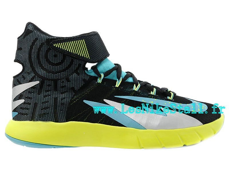 78e7d3a2a1f89 Officiel Nike Zoom HyperRev Chaussures Nike Basketball Pas Cher Pour Homme  Noir Vert 630913-010