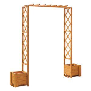 Das Pergola Set Wachau ist ein repräsentativer Sichtschutz für beliebige Bereiche im Garten oder auf der heimatlichen Terrasse. Die Pergola ist gefertigt aus ca. 20 mm starken, hochwertigen Kiefernholz mit ,25 mm starken Rahmenteilen. Hinzu kommt, dass sie umweltfreundlich imprägniert ist und ein Maß von ca. 140 x 203 x 35 cm hat.,− Pergola Set aus Kiefernholz,− Umweltfreundlich imprägniert,− Maße ca. 140 x 203 x 35 cm ,− 25 mm starke Rahmenteile