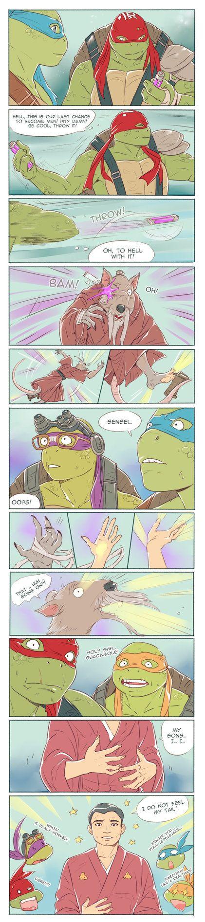 Teenage Mutant Ninja Turtles Rule 34