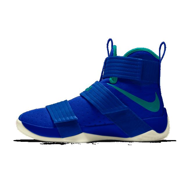 Nike Zoom LeBron Soldier 10 iD Men's Basketball Shoe Education