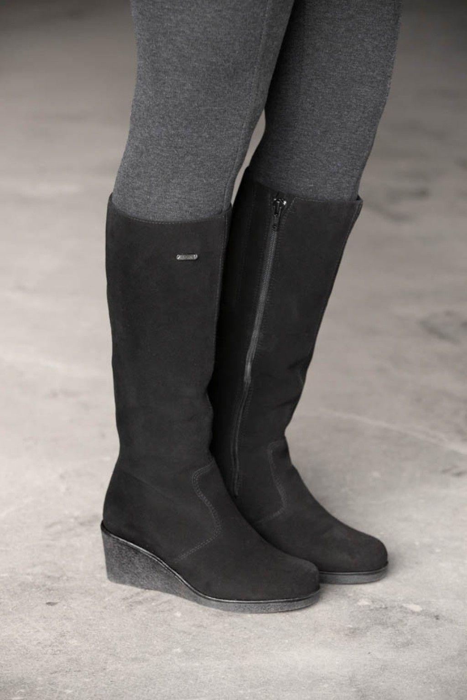 273972fd2f4c6c Jena Women s Winter Cold-Weather Boots - Womens Italian Suede boots -  Waterproof womens boots