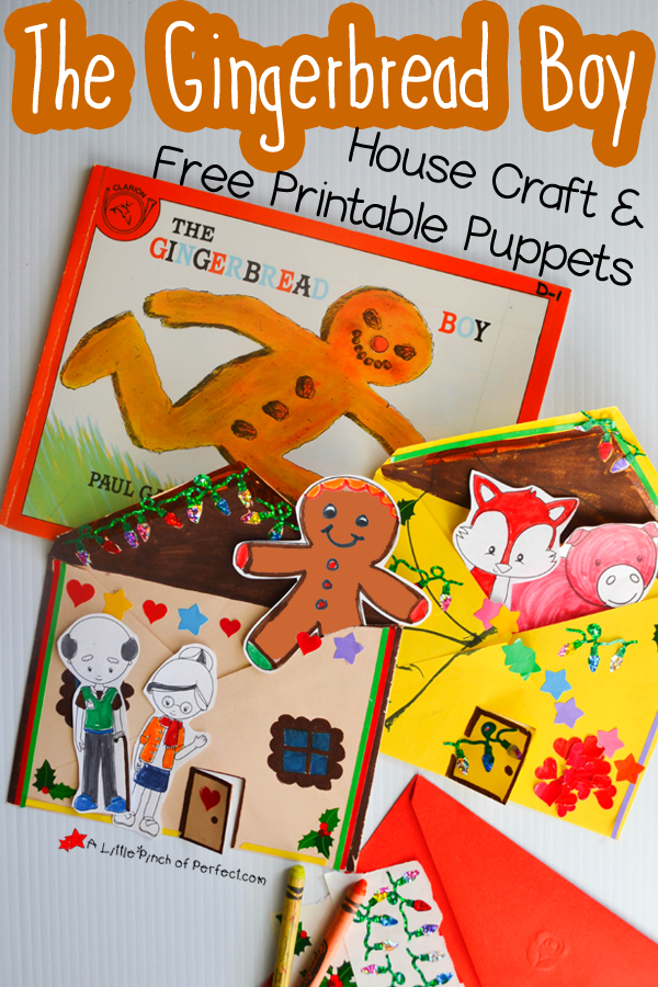 The Gingerbread Man Storytelling Craft and Free Printable