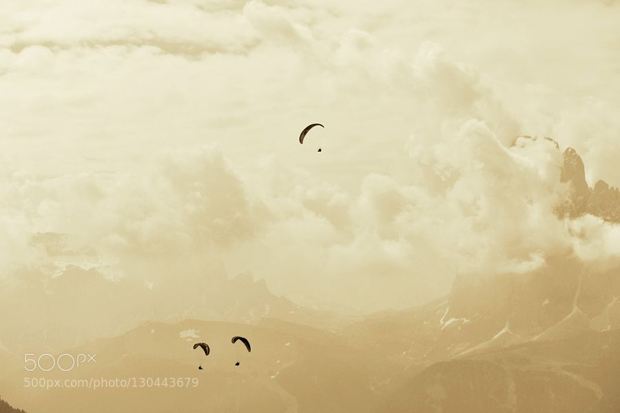 over the clouds by MaurizioSenoner #Sports #fadighanemmd