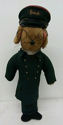 VTG Harrod's Department Store Doorman Mouse Doorstop 1950's Rare