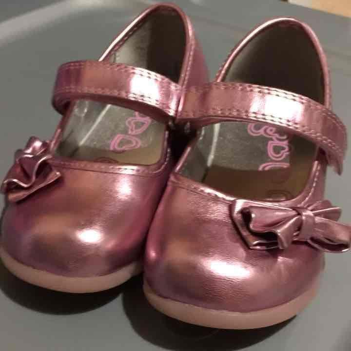 Pink dress Shoes Size 9 Toddler Girls Mercari The