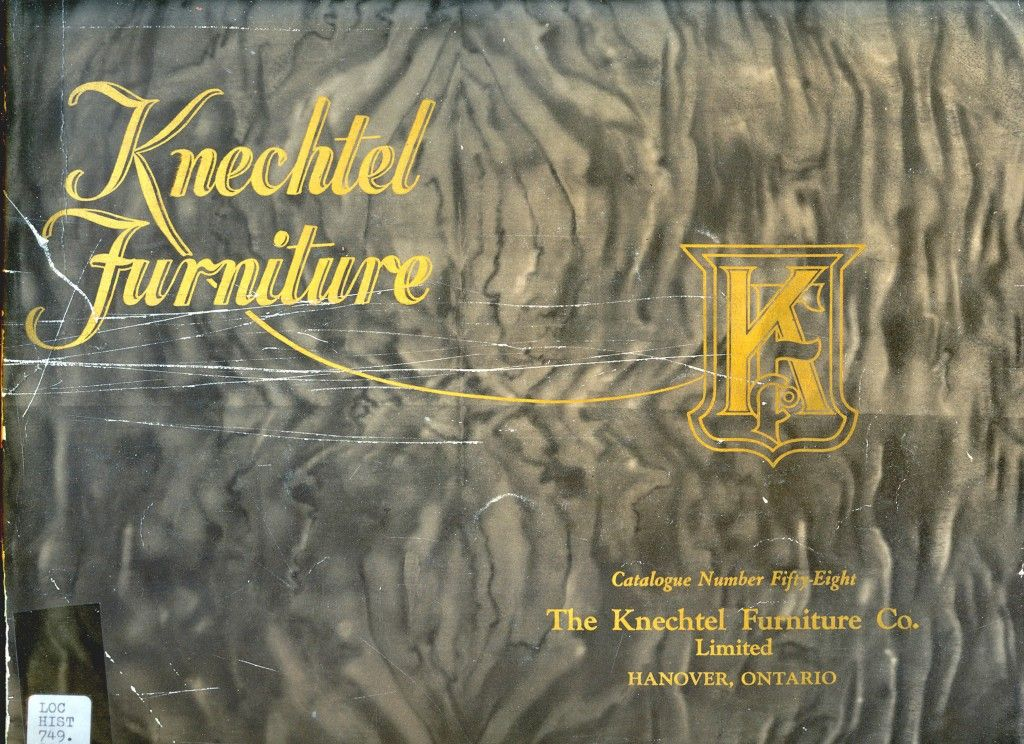 Knechtel 1928 Furniture Catalogue