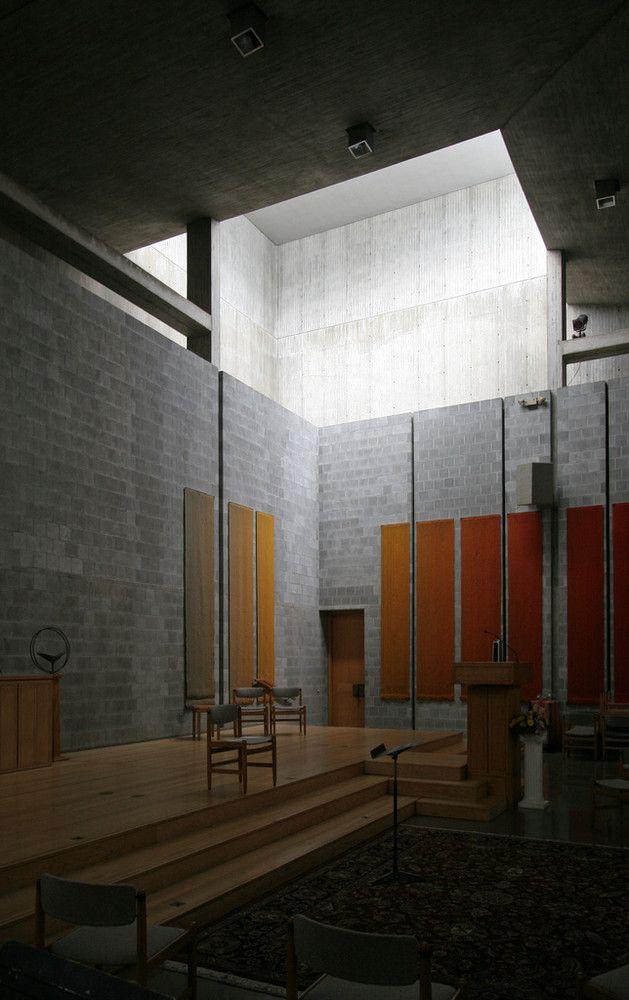 Louis Kahn   First Unitarian Church, Rochester, NY (1969)