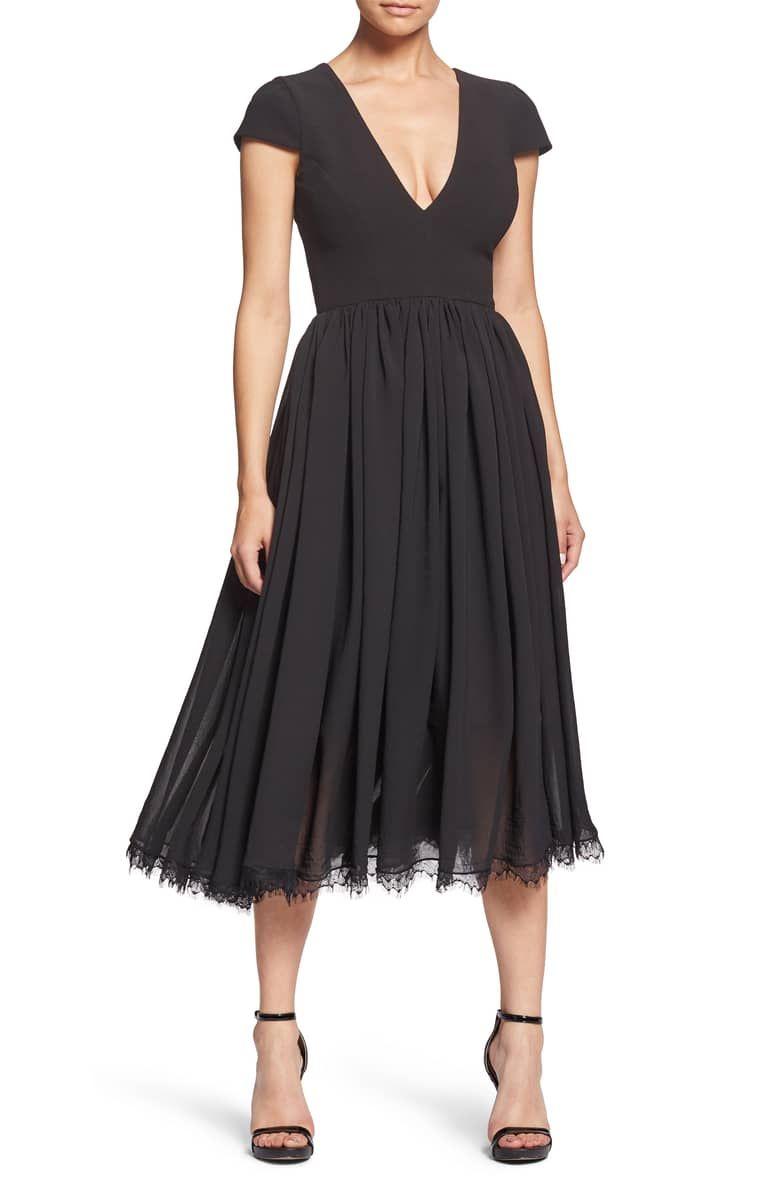 549e2c5a13b1 Corey Chiffon Fit   Flare Dress