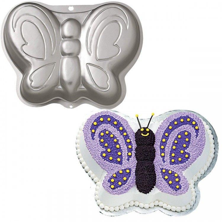 Wilton Aluminum Butterfly Cake Pan