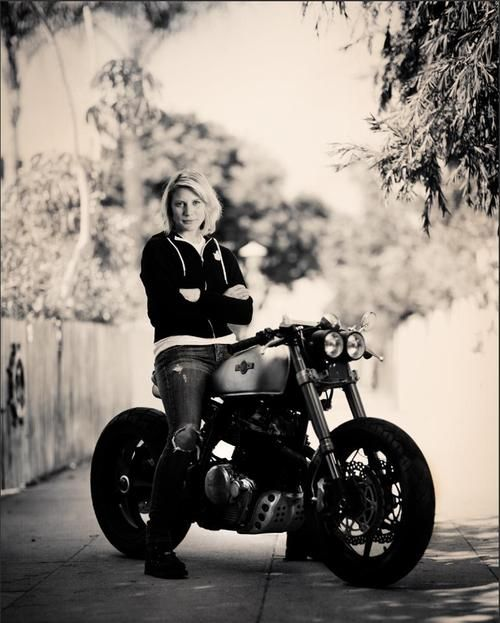 Girl on an old motorcycle: Post your pics! - Page 576 - ADVrider