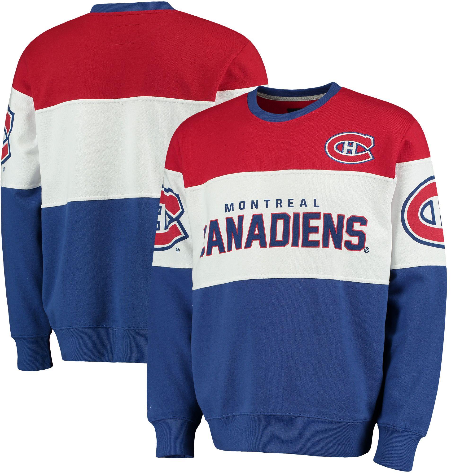 NHL Montreal Canadiens G-III Extreme Supreme Crewneck Fleece Sweatshirt -  Red · Magasin De VentilateursCanadiens De MontréalChemises À Manches ...