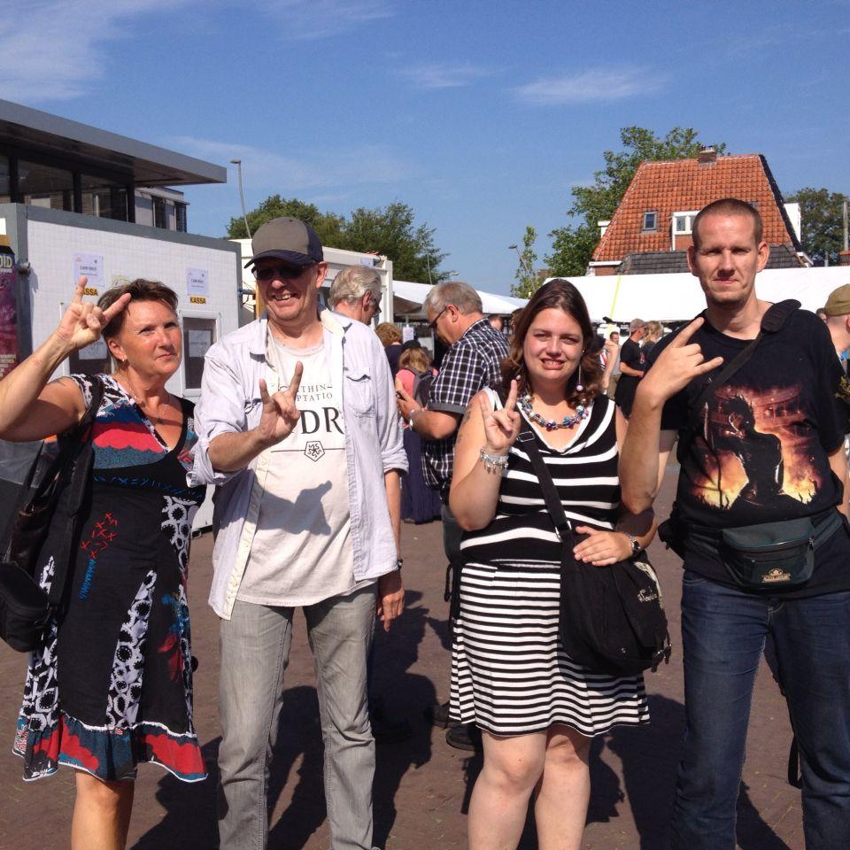 Friends at CityRock,Leeuwarden 7-8-2015