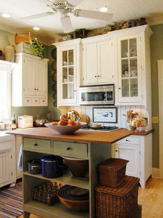 1890 Cottage Style Kitchenfurniture Like Cabinets Rather Than A Adorable Cottage Style Kitchen Cabinets Design Decoration