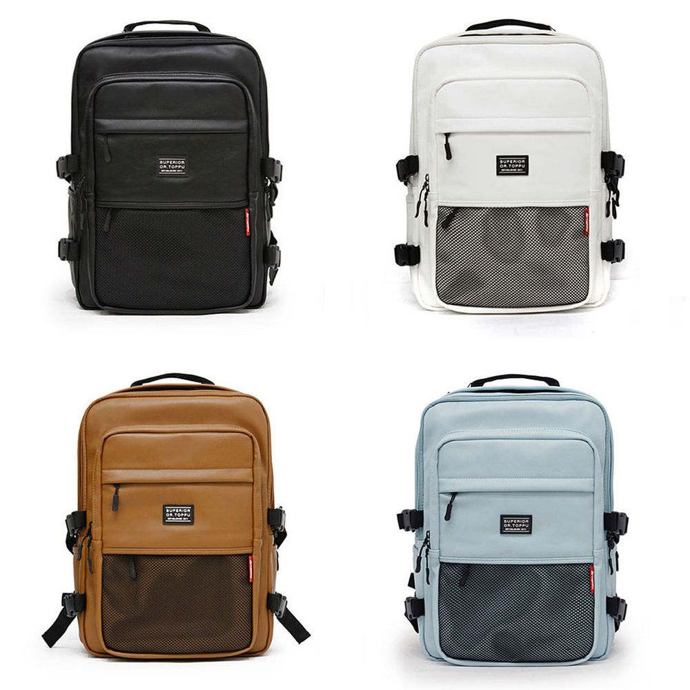 Toppu ARICA Mens Backpack Casual Laptop Bag Macbook School Office Big Book