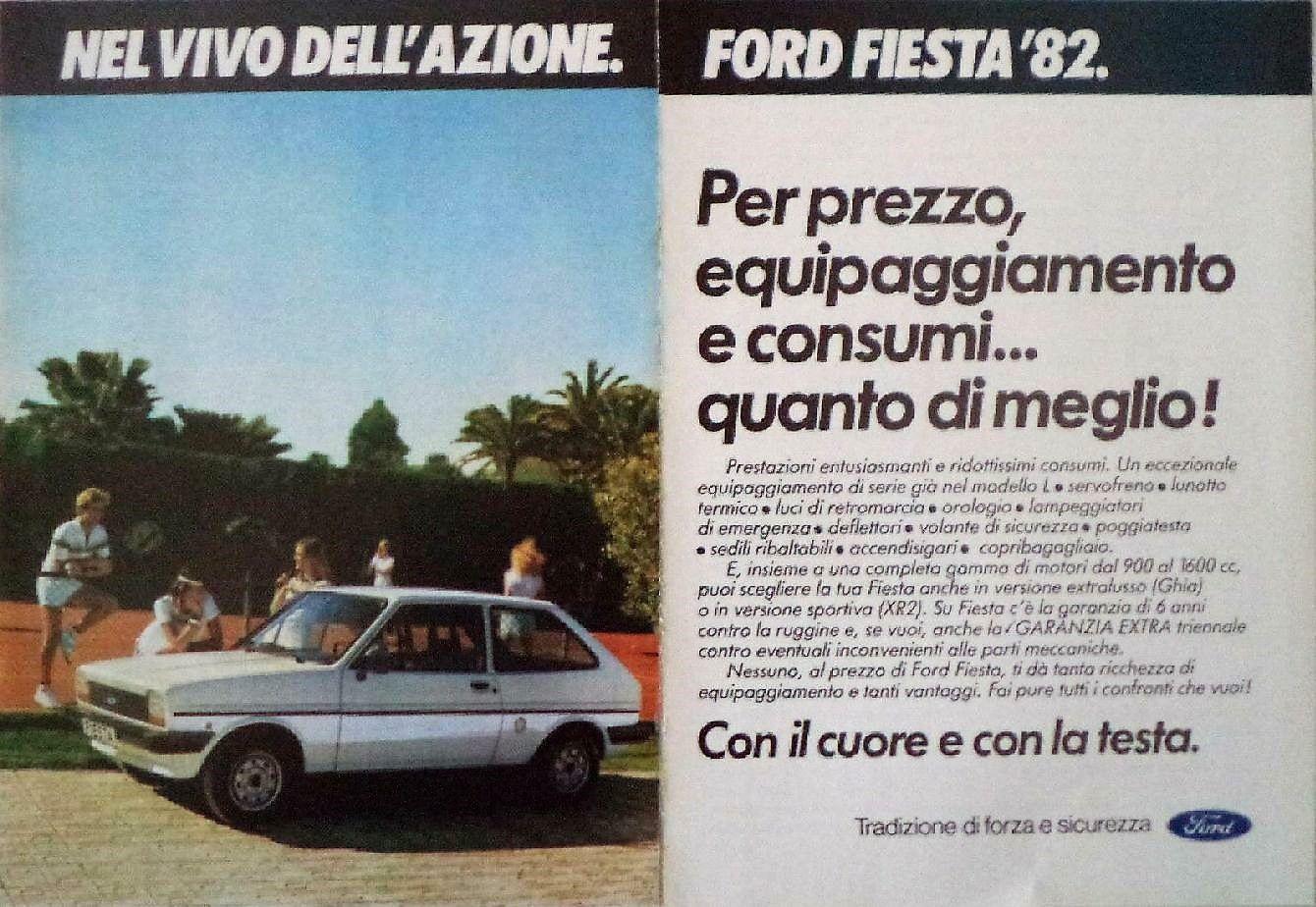 Publicidad Ford Fiesta Italiana Ford Fiesta Fiesta Italiana