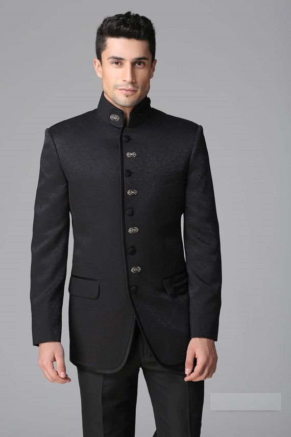9a37642885 Men New Stylish Party Wear Groom Designer Jodhpuri Wedding Tuxedo Suit Coat  Pant