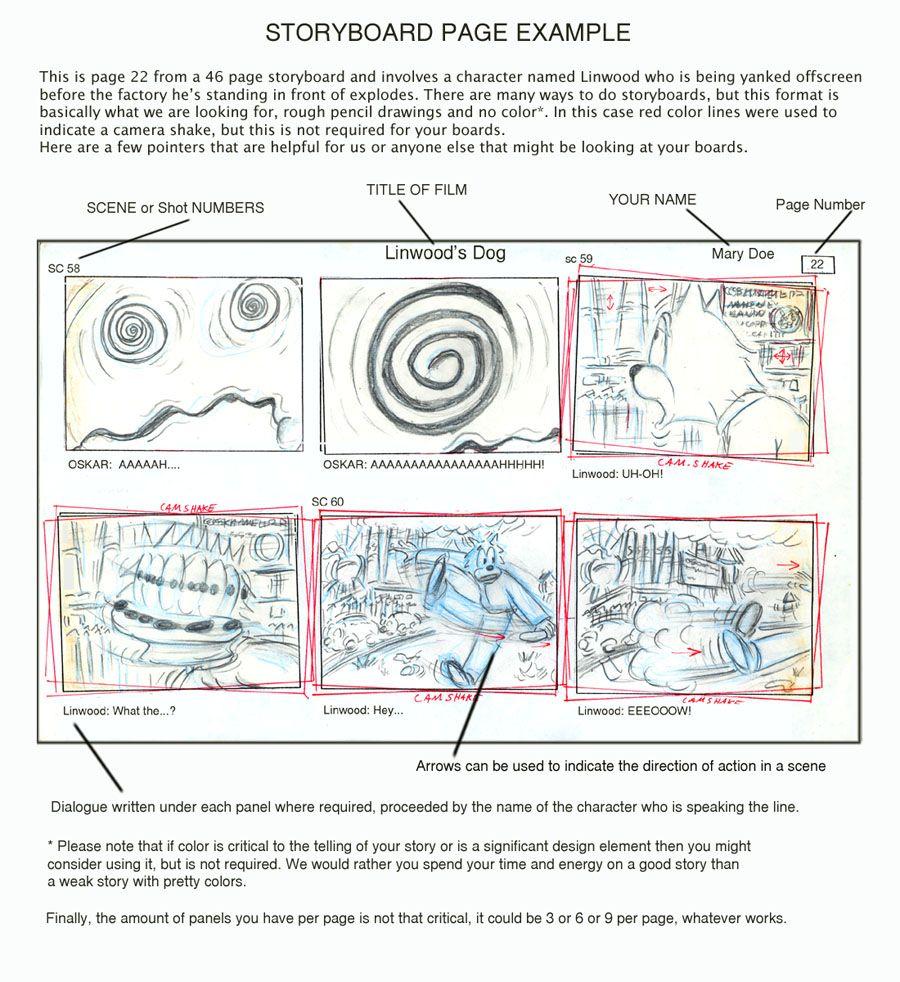 Storyboard Sample  Ucla Portfolio    Storyboard