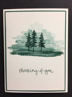 Waterfront, Sheltering Tree, Thinking of You Card