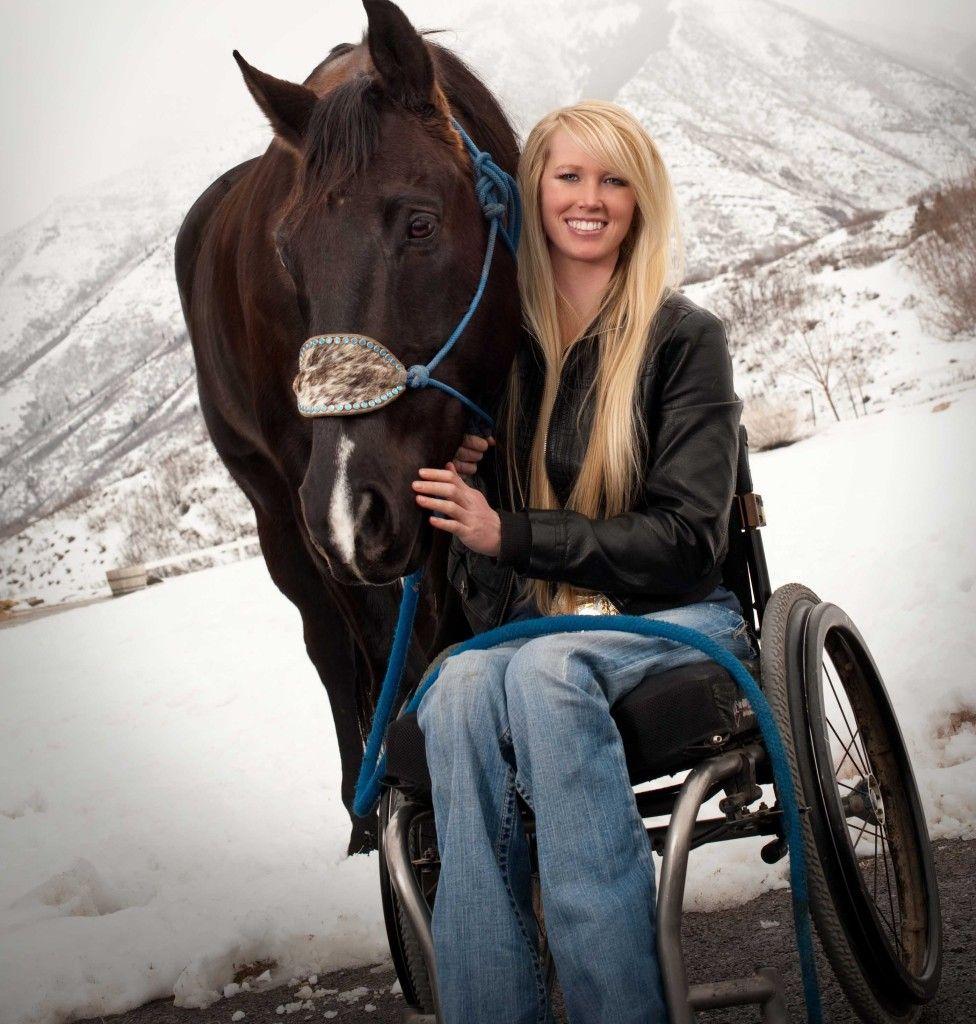 Paralyzed Rider Wins Barrel Racing Championship Barrel