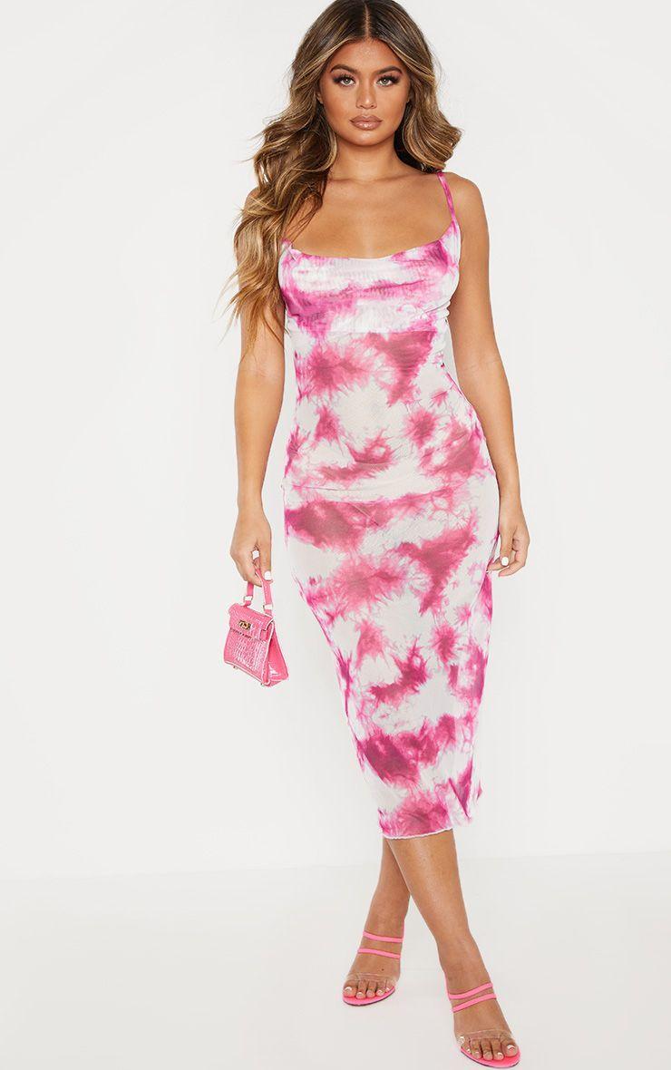 Park Art|My WordPress Blog_Tie Dye Bodycon Dress Pink