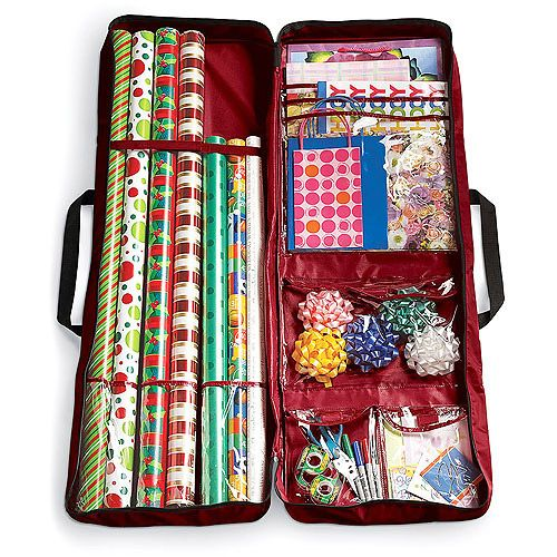 Wrapping Paper Storage case - like that it's portable and self ...