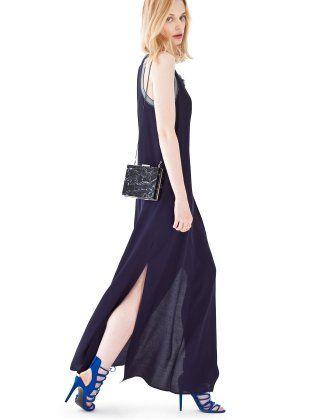 Ipekyol Elbise Iw6150002044 Lacivert 1v1y Com Model