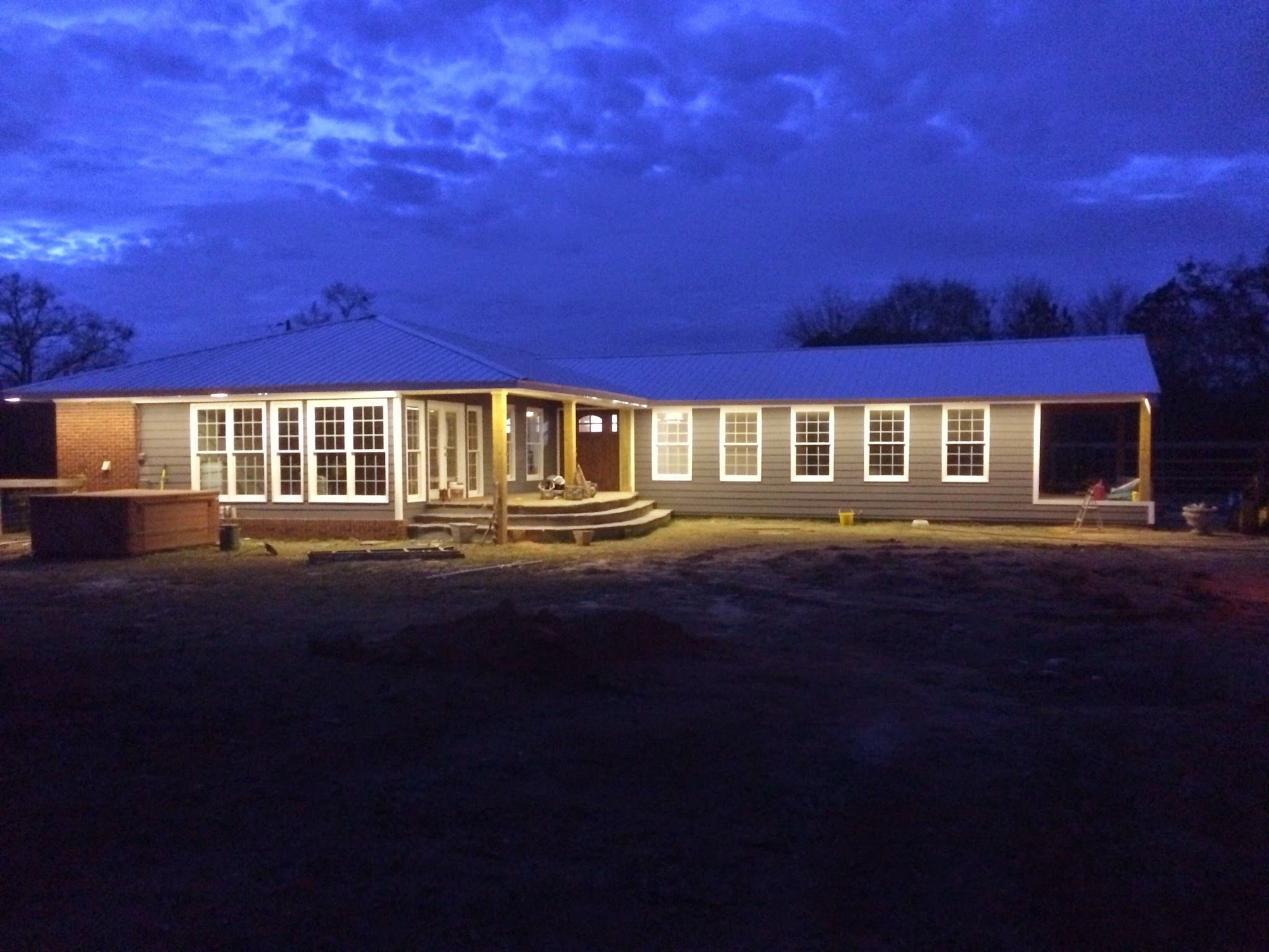 I Installed Led Lights Around The Eaves Of My House Led Outdoor Lighting Home Porch Led Tape Lighting