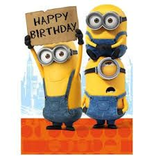 Bilderesultat For Happy Birthday Minions Gif Happy Birthday
