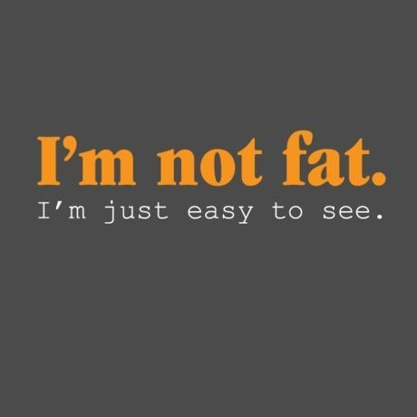 I'm Not Fat Quotes