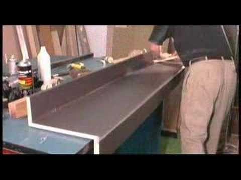 Gluing And Trimming Plastic Laminate Countertop Laminate Countertops Laminate Wood Countertops