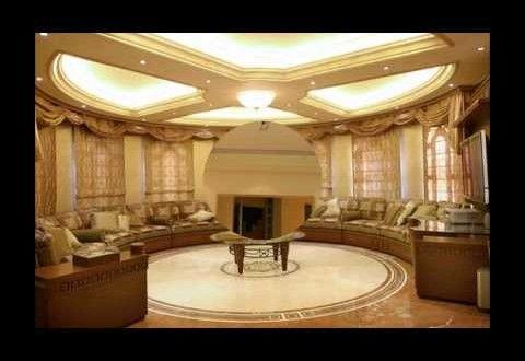 اعمال جبس ديكورات جبسمبورد اسقف معلقه 2016 Interior Wall Design Tv Set Design Wellness Design