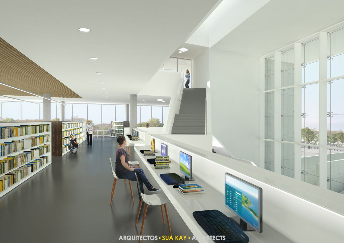 Setúbal Library | www.suakay.com