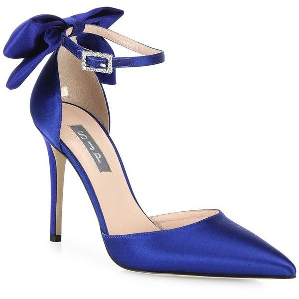1eb75cb304c7 SJP by Sarah Jessica Parker Trance Satin Point-Toe Bow Pumps (€375 ...