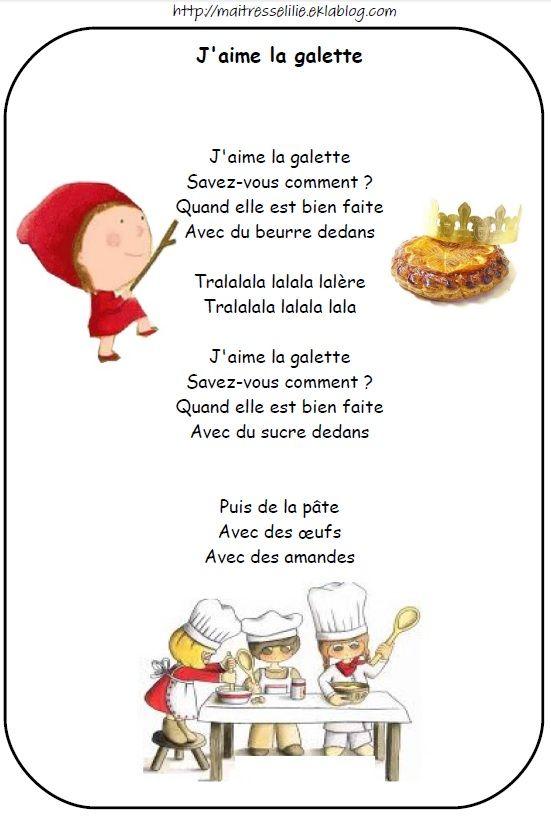 Chanson J Aime La Galette : chanson, galette, Comptines, Galette,, Rois,, Reines, Comptines,, Galette, Maternelle,, Chansons, Enfants