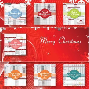 CHRISTMAS SPECIAL Complete Business Management Template Bundle - line sheet template download