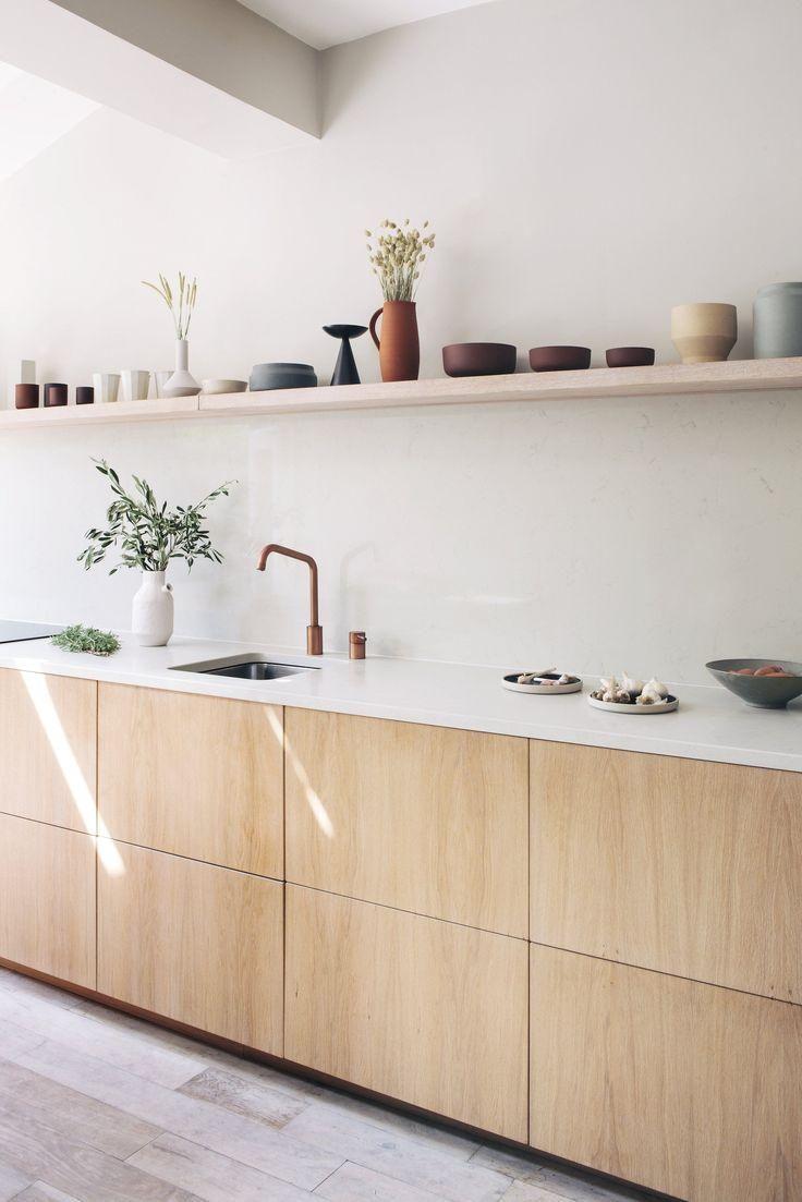 #kitchen design in white #kitchen design photos gallery # ...