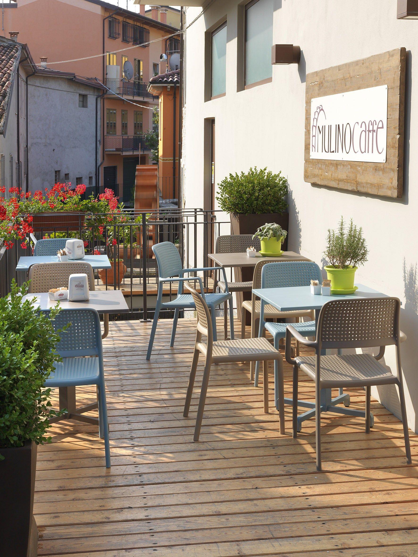 Sillón De Plástico Para Restaurante Y Terraza De Hostelería