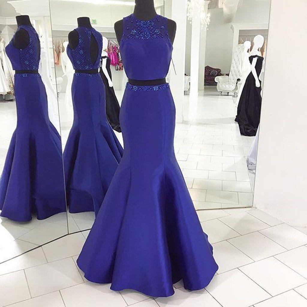 Long Prom Dresses, Satin Prom Dresses, Open Back Party Prom Dresses ...