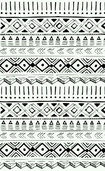 Zentangles Tribal Pattern BackgroundEtnic