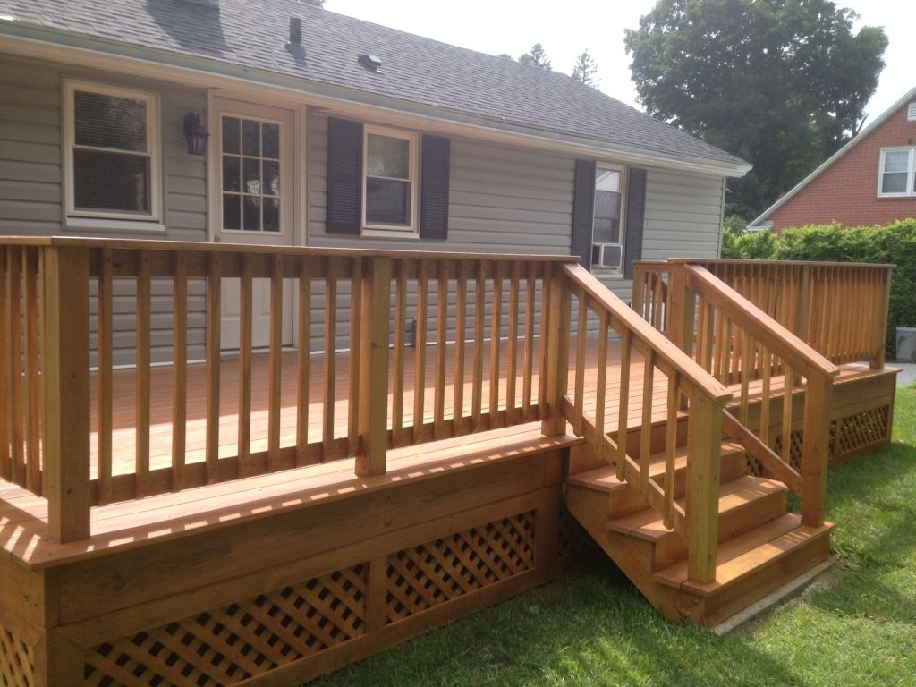 Custom Decks Amp Porches Ac Wood Contracting Entry Way