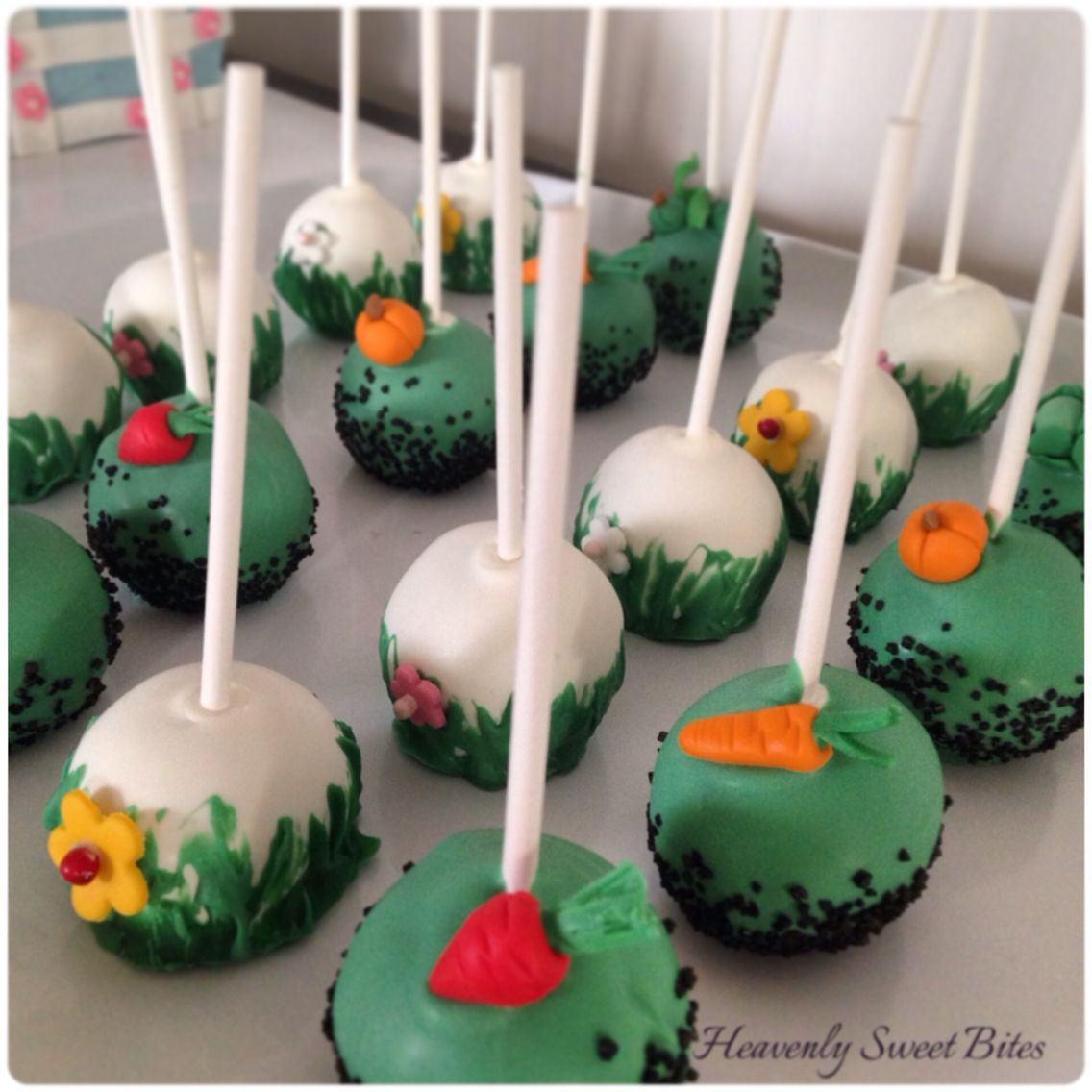 Peter The Rabbit Baby Shower Cake And Cake Pops By Heavenly Sweet