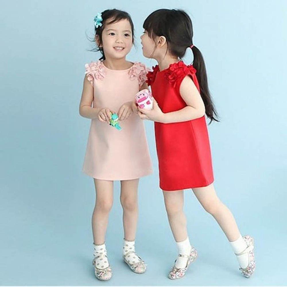 아기 아이 여자 여름 민소매 꽃 어깨 공주 드레스 소녀 vestido 드 메니 나 (선택할 세부 크기 나이)