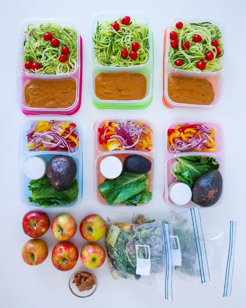 Three Day Raw Vegan Meal Prep Yovana Mendoza In 2020 Raw Vegan Meal Plan Raw Vegan Diet Raw Food Recipes