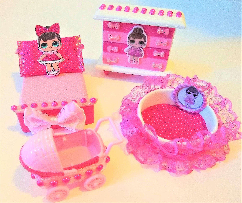LOL Surprise Doll Custom Made FANCY Dollhouse Furniture