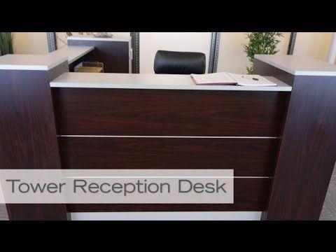 Tower Reception Desk | National Business Furniture